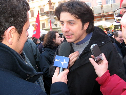 Marco Cappato per RAI 1 © p40.it