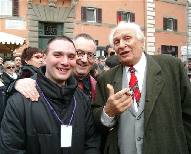 Pasquale Quaranta, Franco Grillini, Marco Pannella