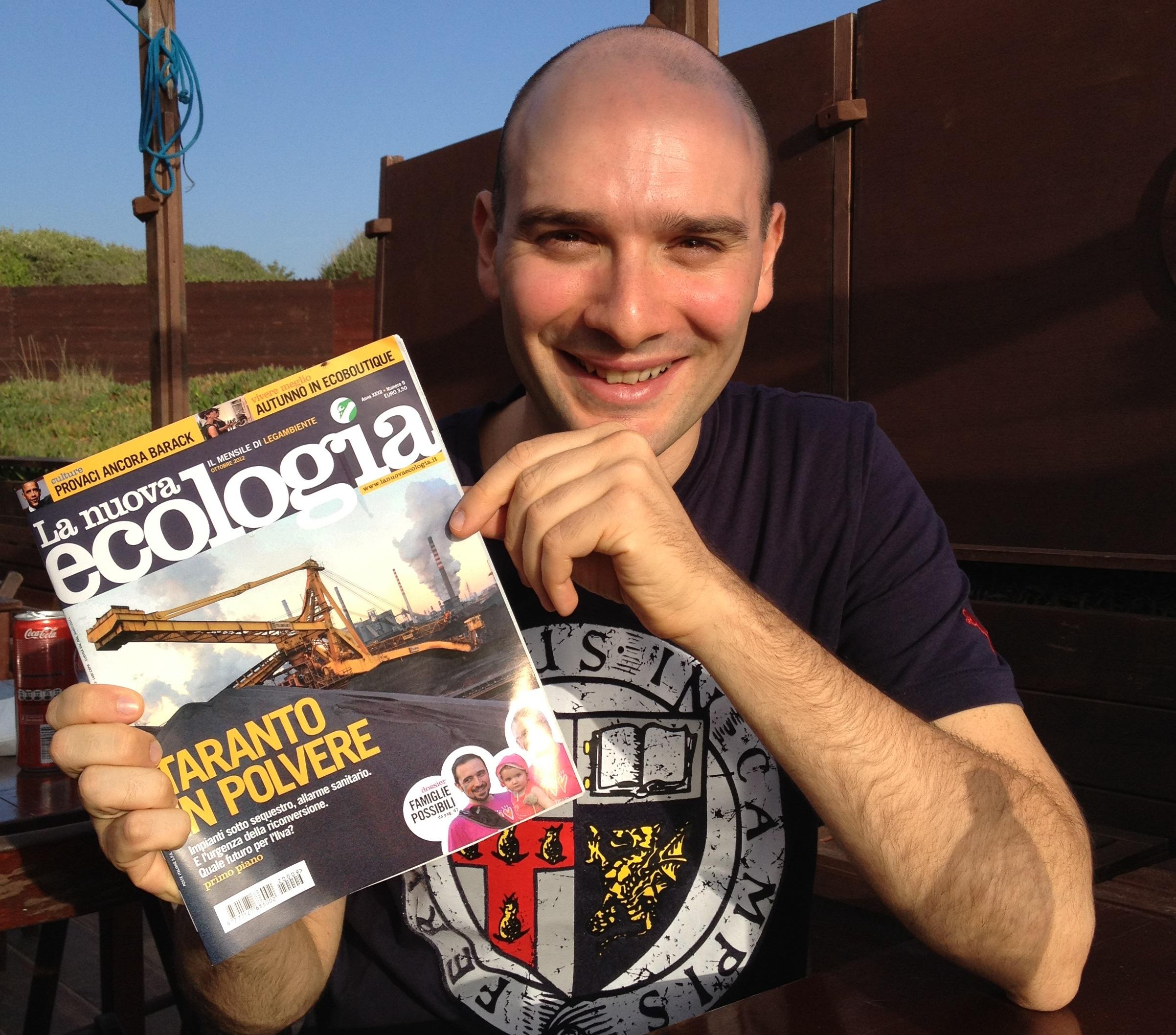 Pasquale Quaranta, La Nuova Ecologia, ottobre 2012